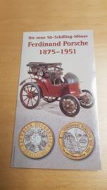 Porsche 50 Schilling Binder Ferdinand Porsche 1875-1951