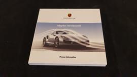 Porsche 911 991 Adaptive Aerodynamik - Press information set with USB stick