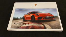 Porsche 911 991.2 GT3 hardcover brochure 2017 - FR