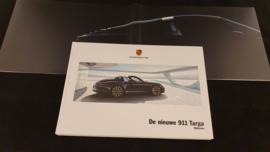 Porsche hardcover brochure 911 991 Targa 2013 - NL
