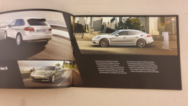 Porsche brochure Our Road to Taycan