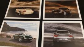 Porsche ansichtkaarten 911 997 Carrera en Cabrio