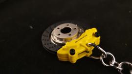 Porsche Schlüsselanhänger - Bremsscheibe gelb - MAP04506618