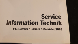 Porsche 911 997 Carrera / Carrera S Cabriolet Service Information Technik - 2005