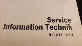 Porsche 911 996 GT3 Mk II Service Information Technik - 2004