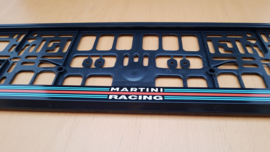 Porsche Porte-plaque d'immatriculation - Martini Racing