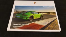 Porsche 911 991.2 GT3 RS hardcover brochure 2018 - FR