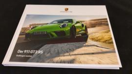Porsche 911 991.2 GT3 RS hardcover brochure 2019 - DE