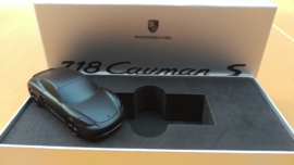 Porsche 718 Cayman S  - Presse Papier - Porsche Museum