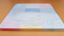 Glass coasters 911 Collection 1968 Porsche Design