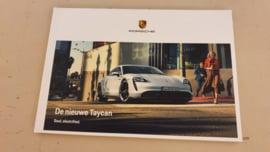 Porsche Taycan Broschüre 2019