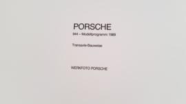 Porsche 944 modeljaar 1989 - Werkfoto Porsche