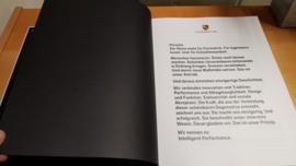 """Livre de la marque Porsche """"70 ans de mariage"""" employés de l'édition limitée - Allemand"""