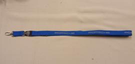 Porsche sleutelkoord - blauw