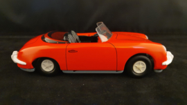 Porsche 356 Cabriolet 1958 - friction drive - Tippco in tin container