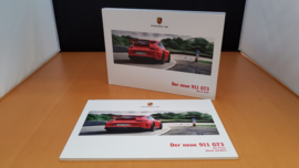Porsche 911 991.2 GT3 hardcover brochure 2017 Including pricelist