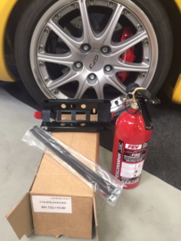Fire extinguisher (FEV) for Porsche 991 GT3 and Porsche Cayman GT4