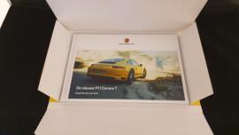Porsche hardcover brochure 911 991 Carrera T - Dutch