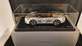 Porsche 911 (991) Speedster Concept I Heritage Design 2018 1:18 - Spark - WAX02100044