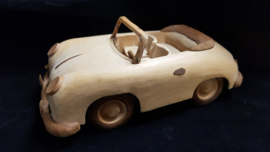 Porsche 356 cabriolet - model van hout