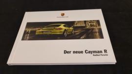 Porsche Cayman R hardcover broschüre - 2010