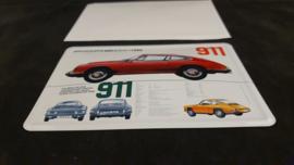 Porsche Classic blikken ansichtkaart 911