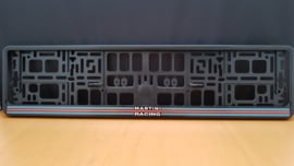 Porsche license plate holder - Martini Racing