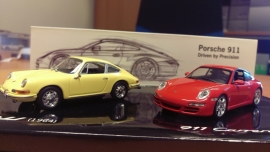 Porsche modelauto's schaal 1:43 Set