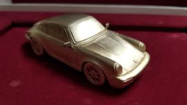 Porsche 911 964 Carrera 2 1989 sterling silver - Paperweight