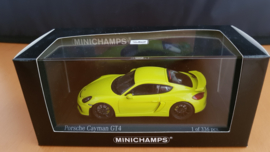 Porsche Cayman GT4 2016 Acidgreen - Acid groen