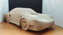 Porsche 959 - solid wooden model - scale 1:8