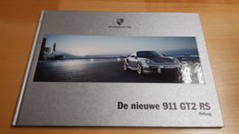 Porsche 911 997 GT2 RS hardcover brochure 2010 - Dutch