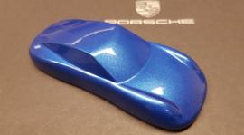 Porsche 911 Sculpture - schaal 1:43 - Sapphire Blue Metallic