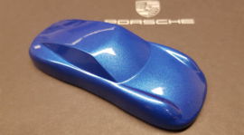 Porsche 911 Sculpture - scale 1:43 - Sapphire Blue Metallic