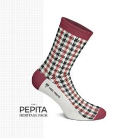 Porsche Pepita Heritage Pack - HEEL TREAD Sokken