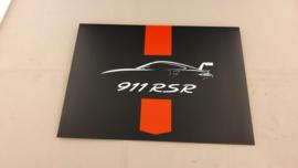 Porsche 911 RSR - Papiermodel Porsche Motorsport