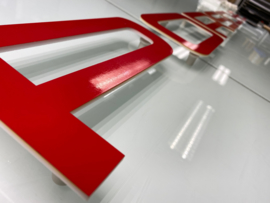 Porsche - Plexiglas letters