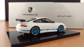 Porsche 911 (996) GT3 RS wit blauw - 2003