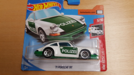 Porsche 911 '71 Police - Hot Wheels 1:64