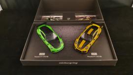 Porsche set 911 991 GT3 RS / 991 GT2 RS Nürburgring Record 1:43 Minichamps - WAX02020087