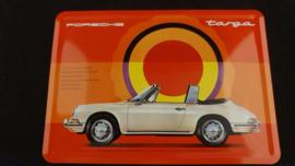 Porsche Classic blikken ansichtkaart Targa