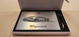 Porsche Taycan Design schets - gift box
