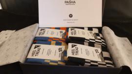 Porsche Pasha Heritage Pack - HEEL TREAD Socken