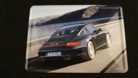 Porsche blikken ansichtkaart 911 997 Targa 4S