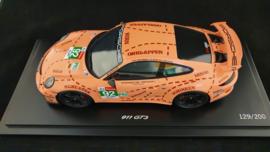 Porsche 911 (991 II) GT3 Pink Pig Taxi Leipzig 2019 1:18 - Spark - WAXL2100005