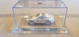 Porsche 911 997 Carrrera d'argent sterling - Presse Papier