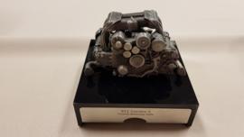 Porsche 911 Carrera S motorblok sculpture met sound cd