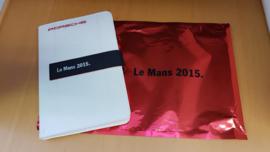 Porsche Notitieboek - Le Mans 2015 Limited Edition