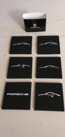 Porsche onderzetters van vilt - Porsche modellen