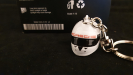Porsche Schlüsselanhänger - Helm Porsche 911 RSR / 919 Hybrid - WAX01012017